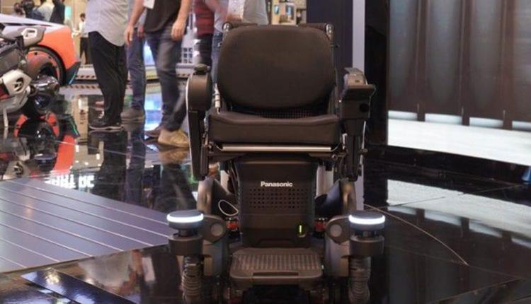 جيتكس 2020: باناسونيك تكشف عن كرسي متحرك ذاتي القيادة لأصحاب الهمم