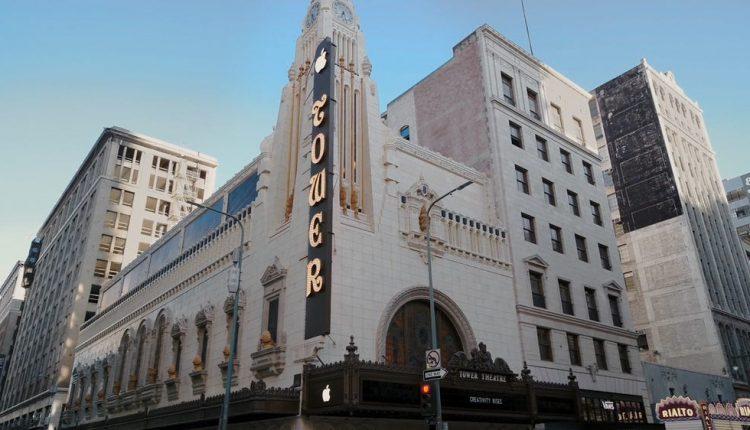 شاهد متجر أبل الجديد المقام ضمن مسرح تاريخي في لوس أنجلس